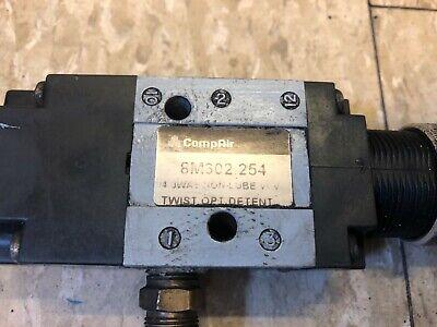 Genuine Compair 8m302.254 Manual Pneumatic Solenoid Valve 14in Npt