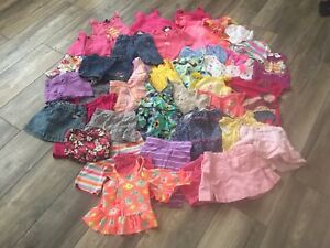 12-24 months girls summer lot