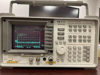 Hp 8594e Spectrum Analyzer W Opts 004 041 053 140 151 160