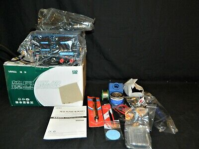 New Yihua 853d 3 In 1 Hot Air Rework Station Soldering Unit And Dc Power Supply