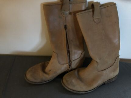 Kids Country Road Girls Leather Boots