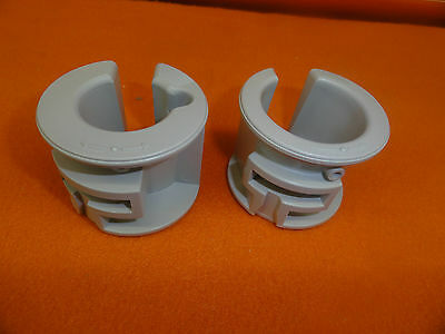 NEW OTHER (SEE DETAILS) SIEMENS P/N 2H760002 & 2H76003 PROBE HOLDER CUPS FOR SONOLINE PRIMA/SIENNA(5336)