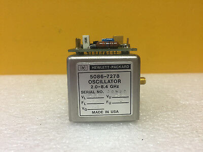 Hp Agilent 5086-7131 2 To 6.2 Ghz -10 To 20 Vdc Yig Oscillator. For 86718b