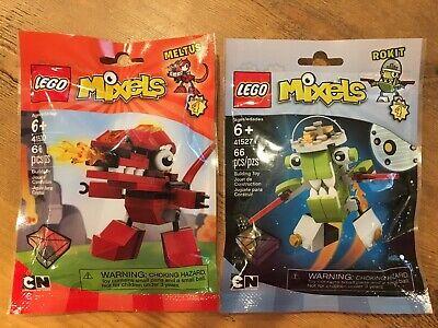 NEW LEGO Series 4 Cartoon Network Mixels - Meltus and Rokit (66 pcs each)