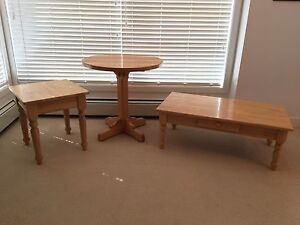 Solid Maple Kitchen, Coffee & Side Tables