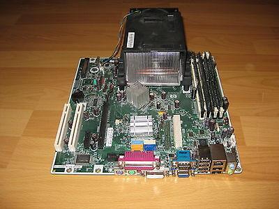 Mainboard HP Compaq dc5750 als Ersatzteilspender, ungetestet (Compaq Ersatzteile)