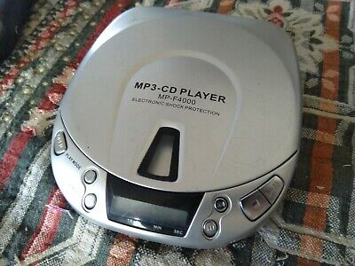 MP3 CD PLAYER MP-F4000 PORTABLE PLAYER perfettamente funzionante for sale  Shipping to South Africa