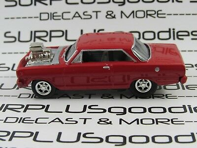 Johnny Lightning 1 64 Loose Collectible 1965 Chevrolet Nova Hot Rod Diorama Car
