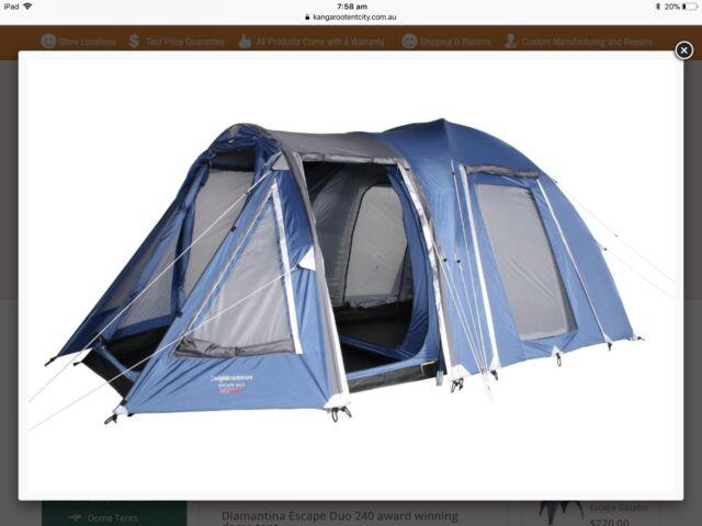 Diamantina Escape Duo 240 Dome Tent - 4-6 people | C&ing u0026 Hiking | Gumtree Australia Hume Area - Sunbury | 1128136645 & Diamantina Escape Duo 240 Dome Tent - 4-6 people | Camping ...
