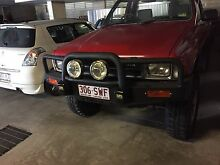 84-88 hilux tjm bullbar with spotlights Arundel Gold Coast City Preview