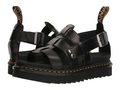 Martens Fisherman Sandal - Men's Shoes Dr. Martens TERRY Leather Fisherman Sandals 23521001 BLACK BRANDO