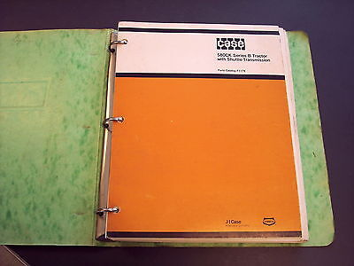 Case 580ck Series B Tractor Parts Catalog Manual F1179