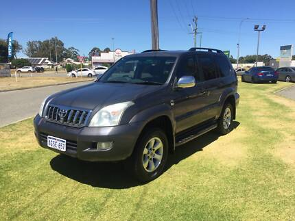 2008 Toyota LandCruiser Prado Gxl Automatic 3.0 Turbo Diesel St James Victoria Park Area Preview