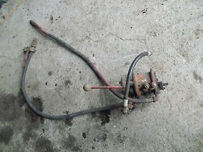 Massey Harris 44 Tractor Mh Hydraulic Outlet Remote Valve W Handle Hoses