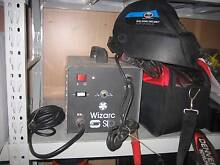 Wizarc welder + helmet.   stick welder arc welder italian made Shailer Park Logan Area Preview