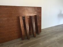 Solid wooden table Mount Lewis Bankstown Area Preview