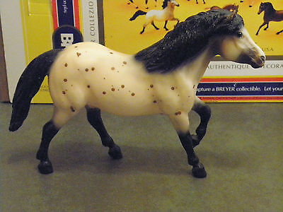 "BREYER HORSE #833 ""SCAT CAT"" CHILDRENS PONY RETIRED APPALOOSA HAFLINGER W/BOX for sale  Somonauk"