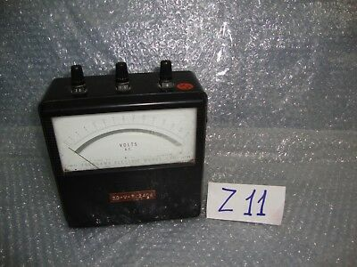 Yew Vintage Yokogawa Electric Works Portable Ac Voltmeter