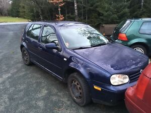 2002 Volkswagon Golf TDI Part Out