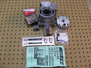 Suzuki RM80 Cylinder NEW Wiseco Piston Top End Engine Kit RM 80 Jug  91 2001