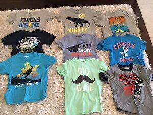 Lot of boys t-shirts size 5T