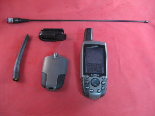 Garmin Astro 220 GPS enabled Dog tracking handheld use with DC-30 DC-40 collars