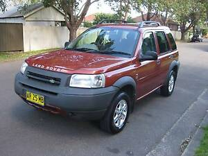 2002 Land Rover Freelander Xlnt cond nds eng  work. Jan reg $1000 Sydney City Inner Sydney Preview
