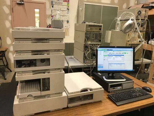 Refurbished Agilent 1100 series HPLC VWD system (fully tested)