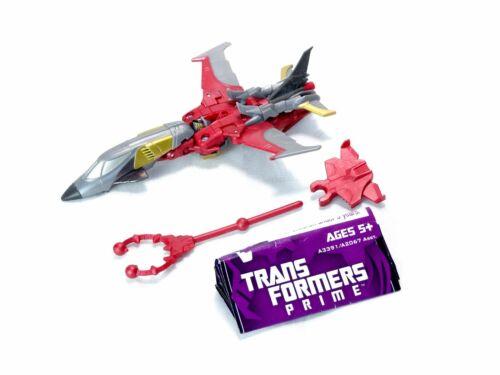 Transformers Prime Cyberverse Commander Class Beast Hunters Starscream -Complete