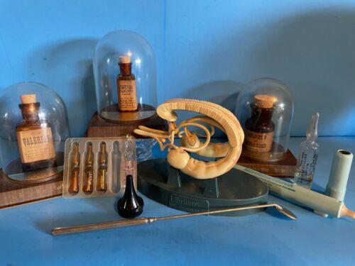 Assorted 9 Vintage Medical Displays Abbott & Instruments