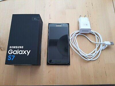 Samsung  Galaxy S7 schwarz, hervorragender Zustand, Nichtraucher for sale  Shipping to Nigeria