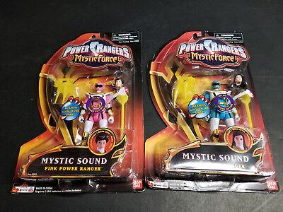 Power Rangers Mystic Force PINK BLUE Figure Lot Sound Sentai MAGIRANGER Gokaiger - Blue Mystic Ranger