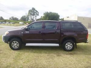 2005 Toyota Hilux Ute ***4X4 -AUTOMATIC DUAL CAB RV *** East Rockingham Rockingham Area Preview