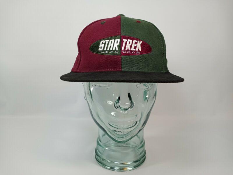Vintage 1996 Star Trek Head Gear Paramount Pictures Hat Cap