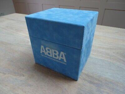 ABBA THE COMPLETE STUDIO RECORDINGS BOX SET EX/VG+ CONDITION