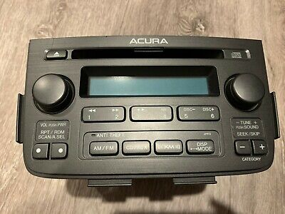 2005-06 Acura MDX 6 CD Radio Receiver AUX 39101-S3V-A070-M1 OEM