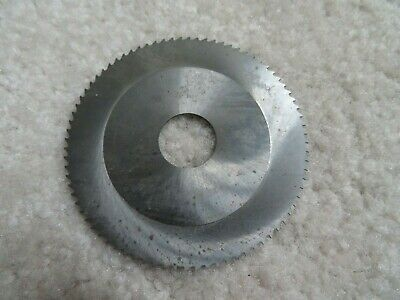Solid Carbide Slotting Slitting Jeweler Blade Saw 2-58 X .024 X 16mm Bore Mill