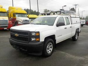 2014 Chevrolet Silverado 1500 Double Cab Regular Box 4WD with Ca