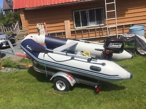 10' Typhoon Zodiac with new trailer and motor