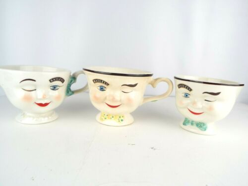 Vntg 1996 Baileys Irish Cream Mug/Cup & Creamer plus Red Robin Baileys Cup