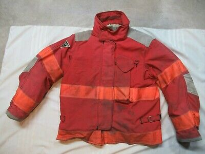 Lion Janesville 42 X 29r Firefighter Turnout Bunker Gear Jacket Coat Rescue Tow