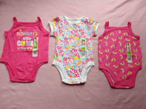 3 Piece Lot Of  Baby Girl Spring Summer Clothes Size 0-3 Mo Ropers
