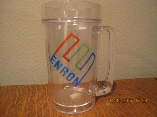 NEW-RARE--ENRON Mug--Double Wall Insulated--24 oz