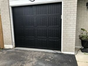 8x7 garage door and opener