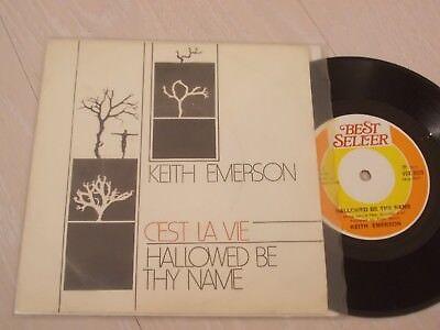 KEITH EMERSON - C'EST LA VIE / HALLOWED BE THY TURKISH 7