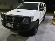 2010 Toyota Hilux Sr (4x4) Dual Cab P/up Tallebudgera Valley Gold Coast South Preview