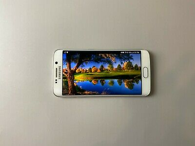 Samsung Galaxy S6 edge SM-G925S 32GB - White, Single Sim, Condition : Shadow