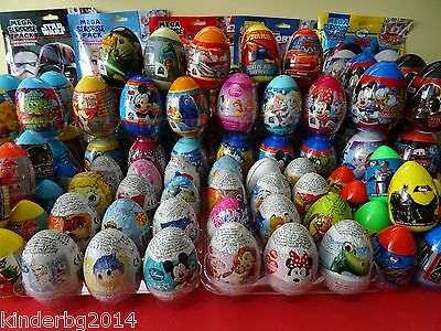 Chocolate   Plastic Surprise Eggs Toys Frozen Trolls Cars Princess    Kinder Bar