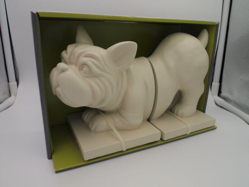 Target Threshold French Bulldog Boston Terrier Bookend Set