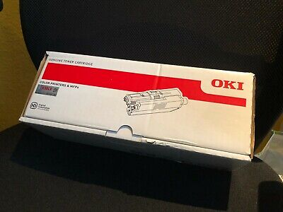 OKI Toner [original] Laser Drucker Kassette in SCHWARZ BLACK p/n 44469803 [NEU]
